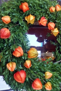 Chinese Lantern Wreath